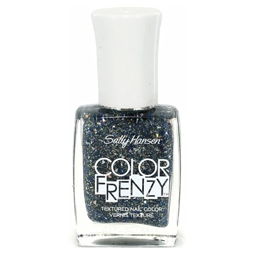 月曜自体思想(6 Pack) SALLY HANSEN Color Frenzy Textured Nail Color - Sea Salt (並行輸入品)