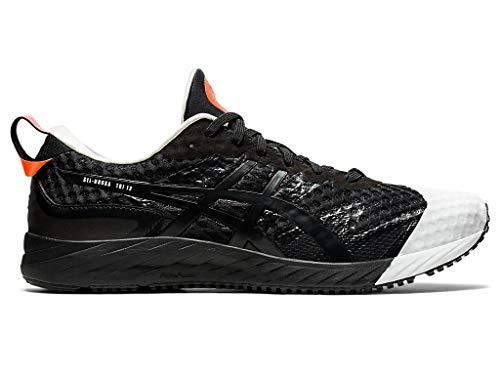 ASICS Men's Gel-Noosa Tri 12 Running Shoes, 11.5M, Black/Black