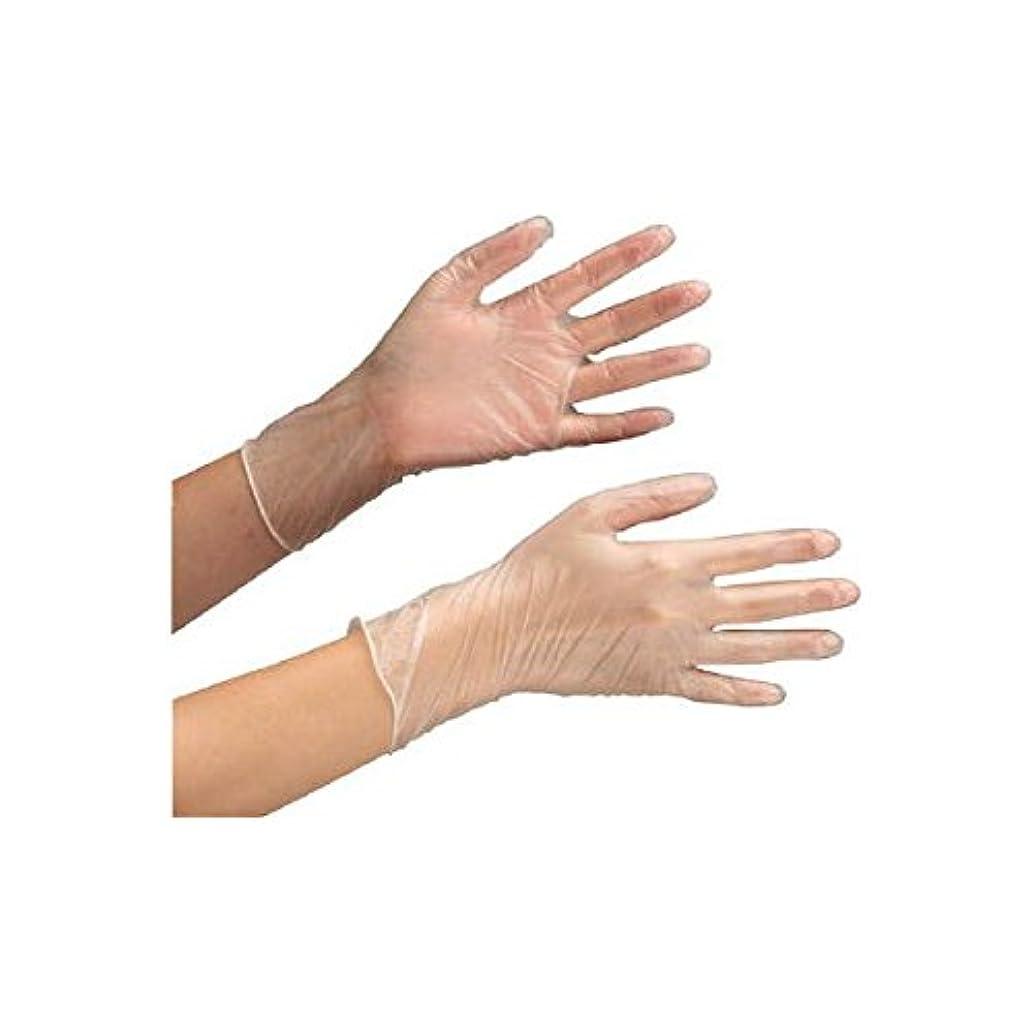 アーティキュレーション主観的近代化ミドリ安全/ミドリ安全 塩化ビニール製 使い捨て手袋 粉付 100枚入 SS(3889394) VERTE-853-SS [その他]