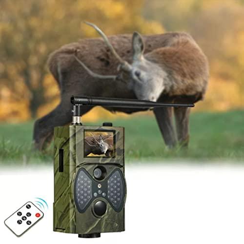 Cámara De Caza, Cámaras Al Aire Libre De Trail Digital, 16MP 1080P Visión Nocturna Vigilancia Vigilancia Salvajes, Para Fauna, Monitoreo, Caza