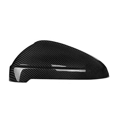 Ersatz 1pair Auto-Rückspiegel-Abdeckung for Audi RS4 S4 A4 B9 A5 S5 Carbon Fiber Außenspiegel Caps