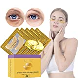 Under Eye Patches, Eye Mask, Gold Under Eye Mask, Gold Eye Mask, Eye Pads, Collagen Eye Patch, JUYOU Eye Patch For Anti-wrinkles, Puffy Eyes, Dark Circles, Fine Lines Treatment (30Pairs 24k Gold)