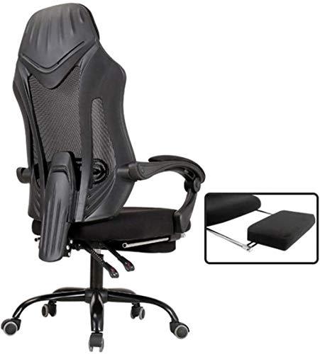Gaming-Stuhl, ergonomischer Computerspielstuhl, Sitzhöhenverstellung, Drehgelenk, E-Sport, Bürostuhl