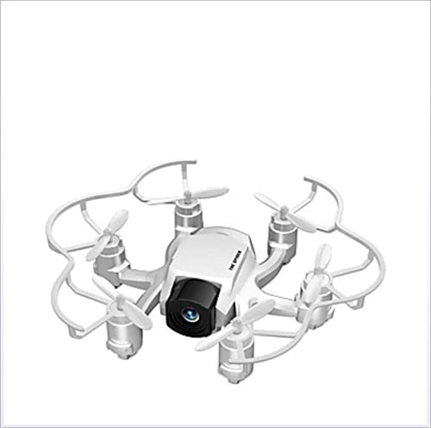 YAMEIJIA RC Drone 4 Channel 6 Axis 2.4G With HD Camera 2.0MP 1280P720P RC Quadcopter LED Lights One Key To AutoReturn  ,White