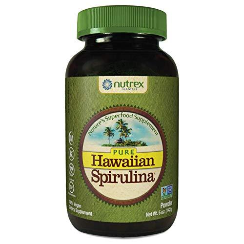 Pure Hawaiian Spirulina Powder 5 Ounce - Natural Premium Spirulina from Hawaii - Vegan, Non-GMO, Immunity Support - Superfood Supplement & Natural Multivitamin