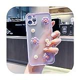 Coque 3D pour Huawei P20 Pro P30 Lite P40 Mate 30 20 10 Lite Y9 Y9Prime Transparente Souple Fleur...