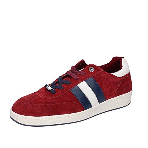 D'Acquasparta Sneaker Uomo Pelle Scamosciata Rosso 41 EU