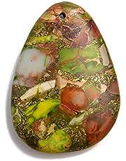 JM Design عقد على شكل دمعة أو شكل غير منتظم لصنع المجوهرات تباع لكل قطعة