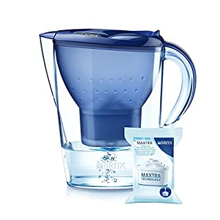 BRITA Marella XL Water Filter Jug and Cartridge, Blue (B000B4UHHQ) | Amazon price tracker / tracking, Amazon price history charts, Amazon price watches, Amazon price drop alerts