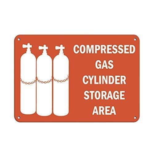 43LenaJon, bombola di gas compresso, cartello di pericolo per uomo, grotta e giardino, cartelli...