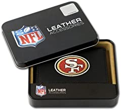 Hall of Fame Memorabilia San Francisco 49ers Embroidered Leather Tri-Fold Wallet