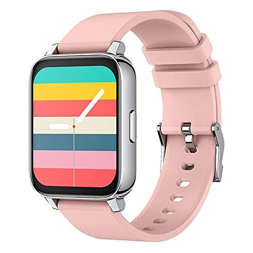 P36 1.69-Inch IP68 Reloj Inteligente Impermeable para Mujer con Monitor de Ritmo cardíaco, Contador de Pasos, Reloj Deportivo - Rosa