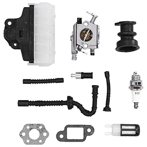 BOLORAMO Filtro de Aceite, no fácil de oxidar y Resistente al Desgaste Kit de carburador de fabricación Profesional para Motosierra 1123 120 0605 1123 160 1650