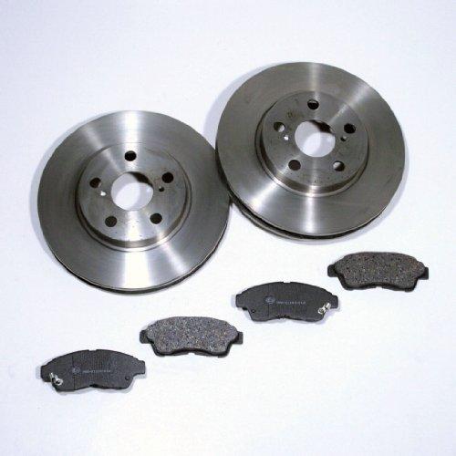 Bremsscheiben/Bremsen + Bremsklötze für vorne/für die Vorderachse