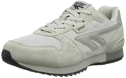 HI-TEC Unisex Fitness Shoes, Grey Silver 52, 9.5 US Men