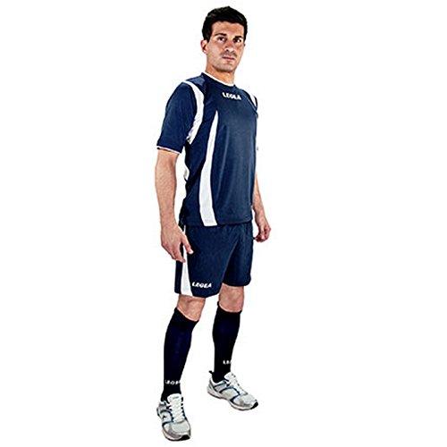 Legea - Volleyball-Hosen für Herren in Rot-Blau