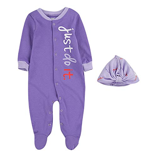 Nike Baby Coverall & Hat 2 Piece Set