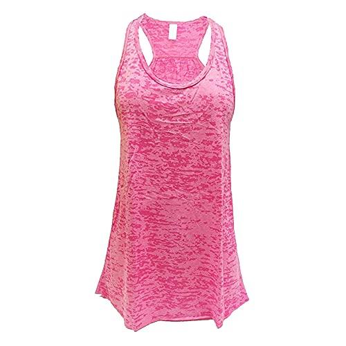 Camisa de entrenamiento para mujer, ajuste holgado, para correr, gimnasio, chaleco de yoga, ropa deportiva entrenamiento camisa chaleco de yoga chaleco de entrenamiento para mujer, camiseta deportiva