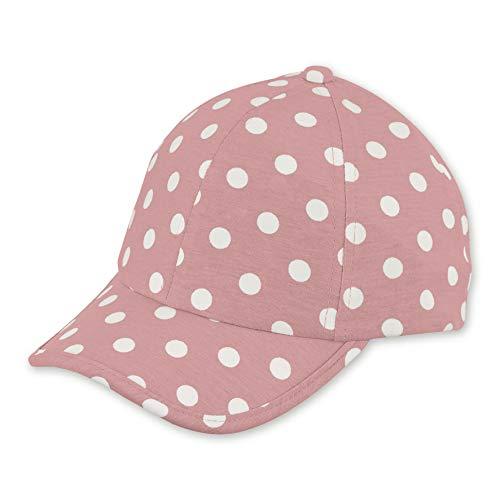 Sterntaler Baseball-Cap für Mädchen mit Größenregulierung und Punktemuster, Alter: 2-4 Jahre, Größe: 53, Hellrot