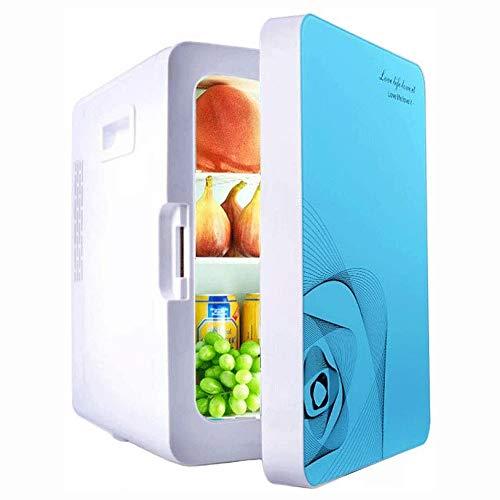 Big Shark Mini-koelkast, 20 liter, compact, voor thuis, garage, camper, kelder of kantoor, enkele deur, mini-koelkast