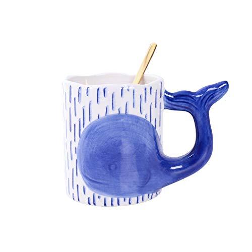 Kaffee Mark TasseKeramik Wasser Tasse nach Hause Kaffeetasse-blau Weihnachtsgeschenk