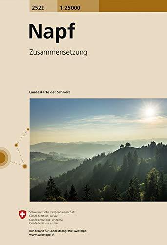 2522 Napf: Zusammensetzung (Landeskarte 1:25 000 Zusammensetzungen)