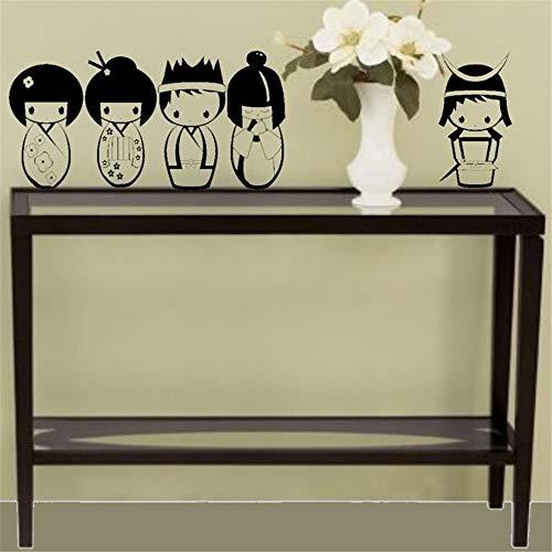 Decals Muurstickers Zeggen Lettering Kamer Thuis Muurschildering Muurschildering Kunst Japan 5 Pop Art Kinderkamer Woonkamer Slaapkamer 10.5