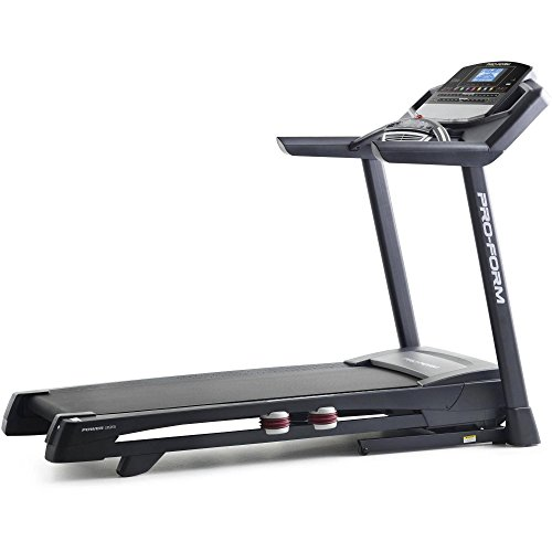 PROFORM Sport's Power 995i Treadmill, Grey Silver Black red, adults