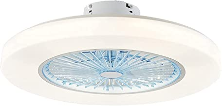 BBZZ Moderne Eenvoud Plafond Ventilatorverlichting, Afstandsbediening Plafond Ventilatorverlichting, 3 Snelheden Plafondla...