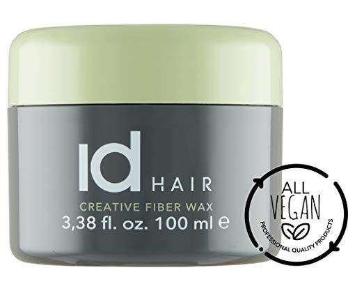 id Hair – Cera de fibra creativa – Cera de fibra – fuerte y flexible – Acabado mate – Adecuado para pelo corto a medio largo – 100 ml