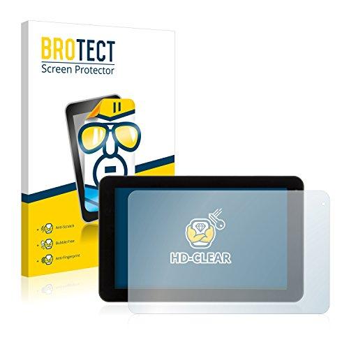 BROTECT Schutzfolie kompatibel mit Xoro TelePAD 9A1 Pro (2 Stück) klare Bildschirmschutz-Folie