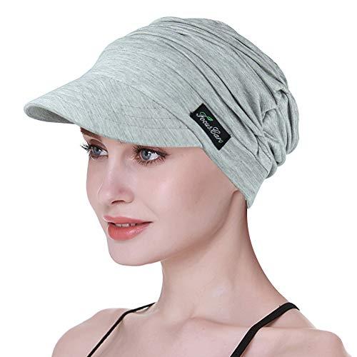 FocusCare Zeitungsjunge-Kappe für Krebspatienten-Sommer-Kappe für Chemo Frauen-Haarausfall-Turbane