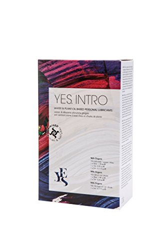 YES INTRO – op water- en plant-olie gebaseerde persoonlijke lubricants (inintroductory pack), 114 ml