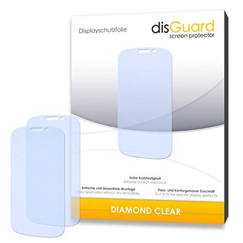 disGuard 3 x Schutzfolie Yota YotaPhone 2 Bildschirmschutz Folie DiamondClear unsichtbar