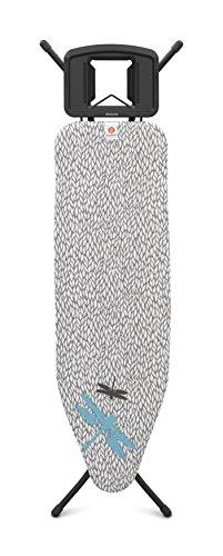 Brabantia Board B, 124x 38cm, solide Dampf Eisen Rest, Stahl, Gerste, 160,5X 48,5x 70cm