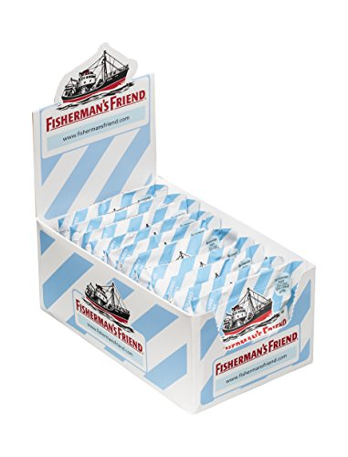 Fisherman's Friend Original, Caramelo Comprimido Sin Azúcar - 12 unidades de 25 gr. (Total 300 gr.)