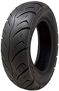 MMG Tire 120/90-10 Tubeless Front/Rear Motorcycle Scooter Moped Street Tire (P116)