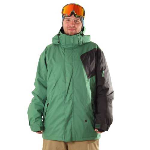 Light Herren Snowboardjacke Free, Amazon/Black, S, FA852-12,