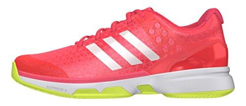 adidas Adizero Ubersonic 2 W, Zapatillas de Tenis Mujer, Rojo (Rojdes/Ftwbla/Amasol), 43 1/3