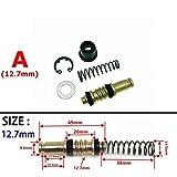 Calidad superior Motocicleta de la bomba de freno de embrague 12,7 mm 11 mm 14 mm 16 mm émbolo buzo de reparación Kits Set Master cilindro de pistón Rigs Accesorios de reparación Para motocicletas