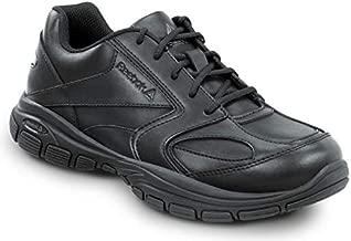 Reebok Senexis - Men's Black, MaxTrax, Soft Toe, Slip Resistant Sneaker (12.0 W)