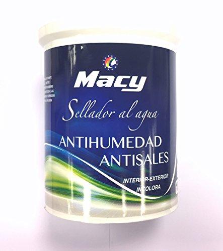 Sellador Antihumedad-Antisales para Interior y Exterior. 4 L