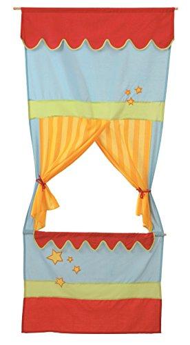 roba-kids - Teatro de guiñol de tela para puerta, multicolor (Roba Baumann...
