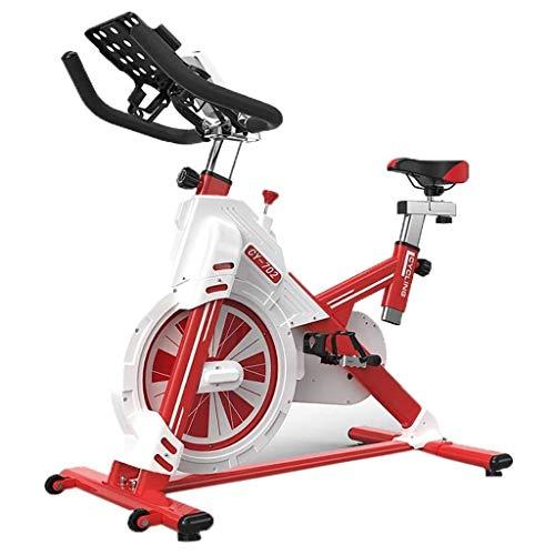 Indoor Cycling Heimtrainer Spin Bike Studio Cycles Studiogeräte Einstellbare Lenker Sitzfläche Schlank Fahrradheimtrainer, wie auf Fernsehdirektriemenantrieb, Reibungswiderstand, Ergonomischer Lenker