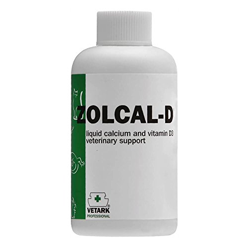 Zolcal - D - Liquid Calcium And Vitamin D3 Supplement Available in 2 sizes suitable for all birds and animals (120 ml)