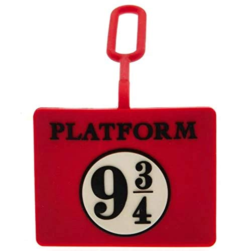 HARRY POTTER Luggage Tag, Etiqueta del equipaje para Hombre, rojo, One Size