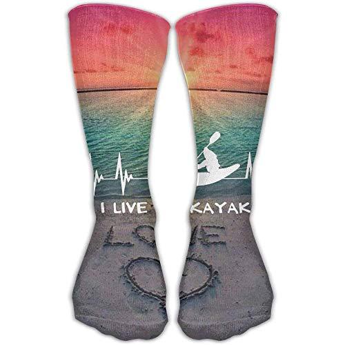 I Live To Kayak Heartbeat Mejor alto rendimiento Atlético