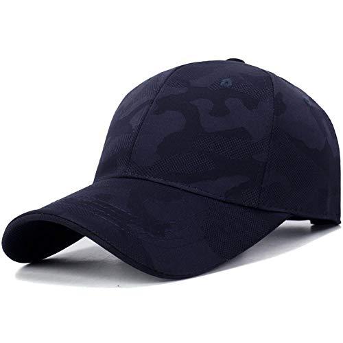 Gorras de Hombre Cap Gorra De Béisbol Hombre Moda Mujer Snapback Gorras para Hombre Gorra Camuflada Camuflada Azul Marino