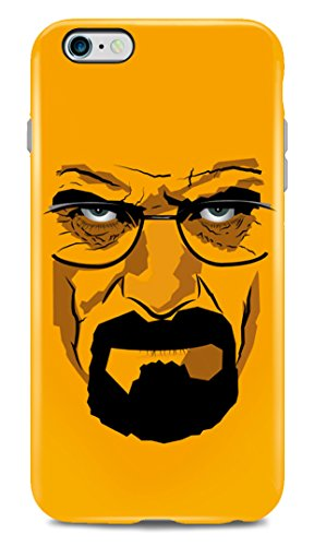Carcasa de iPhone 6 Plus Heisenberg Face - Carcasa rigida para Apple iPhone 6 Plus LaMAGLIERIA
