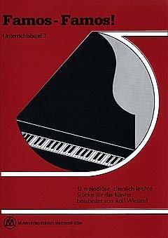 FAMOS FAMOS 3 - Partituras para piano